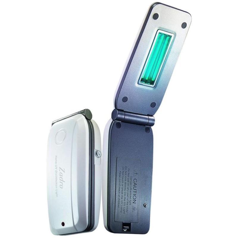 Портативный сканер-дезинфектор Если вы трепетно относитесь к гигиене, то этот гаджет для вас. По сло