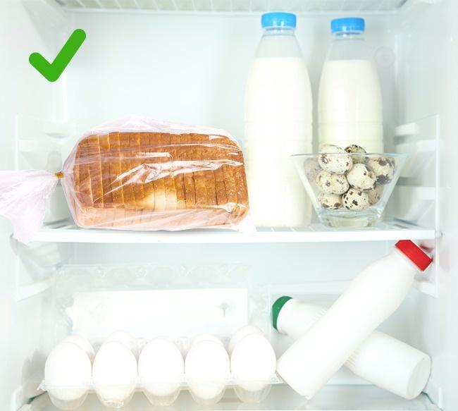 © depositphotos  © depositphotos  Видеале хлеб должен храниться всухом ипрохладном ме