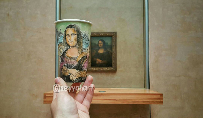 «Мона Лиза», Лувр, Париж.