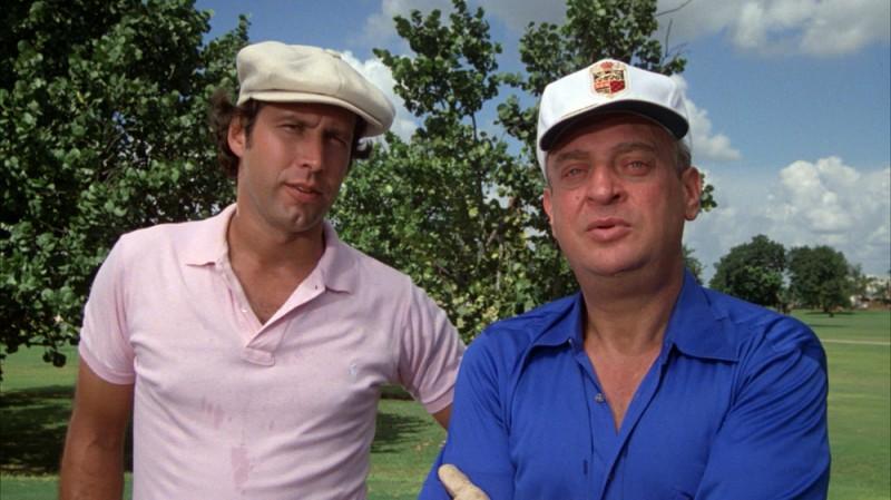 Родни Дэнджерфилд и Чеви Чейз, «Гольф-клуб» Родни Дэнджерфилд употреблял кокаин во время съемок «Гол