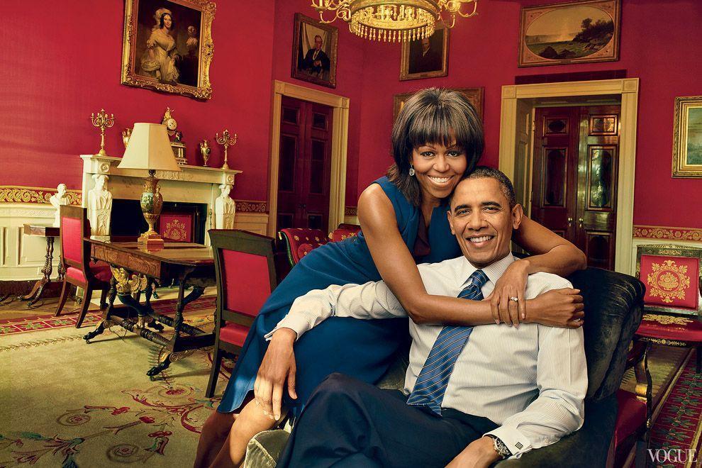 20. Мистер и миссис Обама, апрель 2013 года.