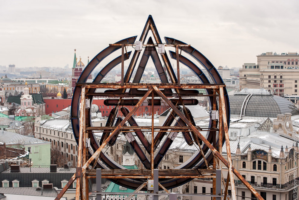 23. А самые большие механические часы в мире в ЦДМ на Лубянке войдут в пятерку ведущих мировы