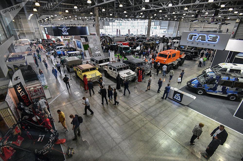 «Monster Trucks» на Московской выставке внедорожных шоу (11 фото)