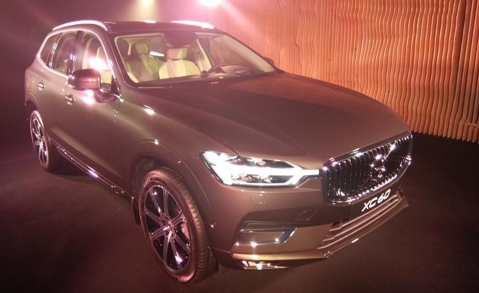 Volvo назвала рублевые цены нового XC60 (2 фото)