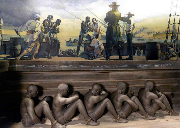 Как перевозили рабов (11 фото)