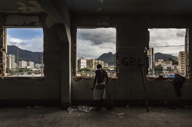 Фавелы Рио-де-Жанейро (20 фото)