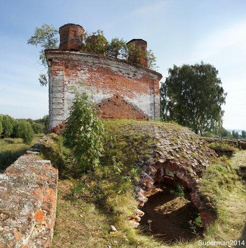 Заброшенное село Осоево