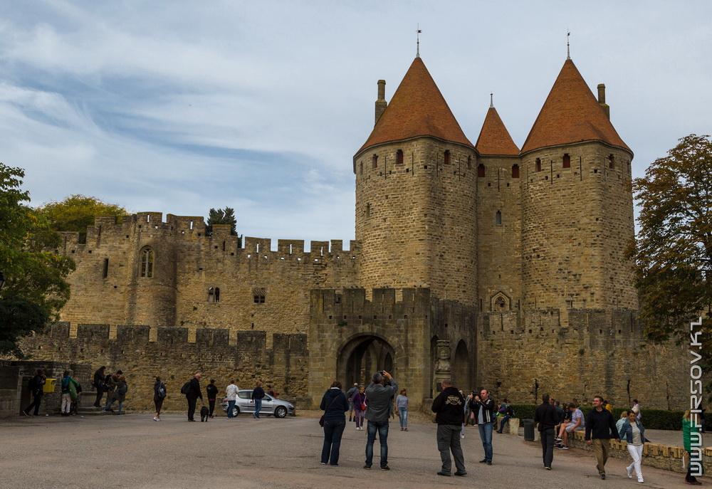 Каркассон, замок из глубины веков
