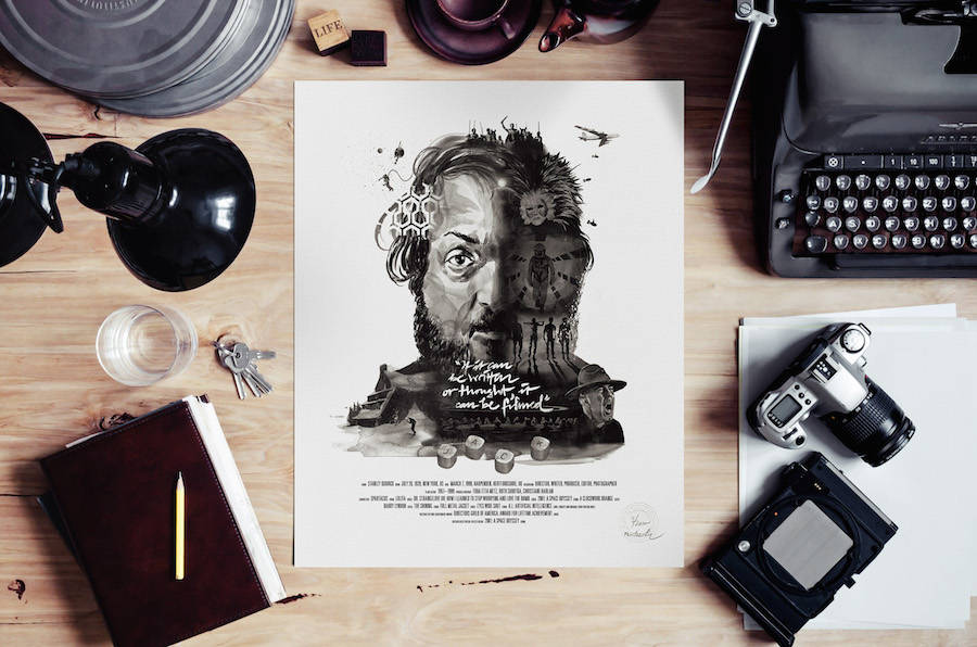 New Illustrated Posters of Famous Directors
