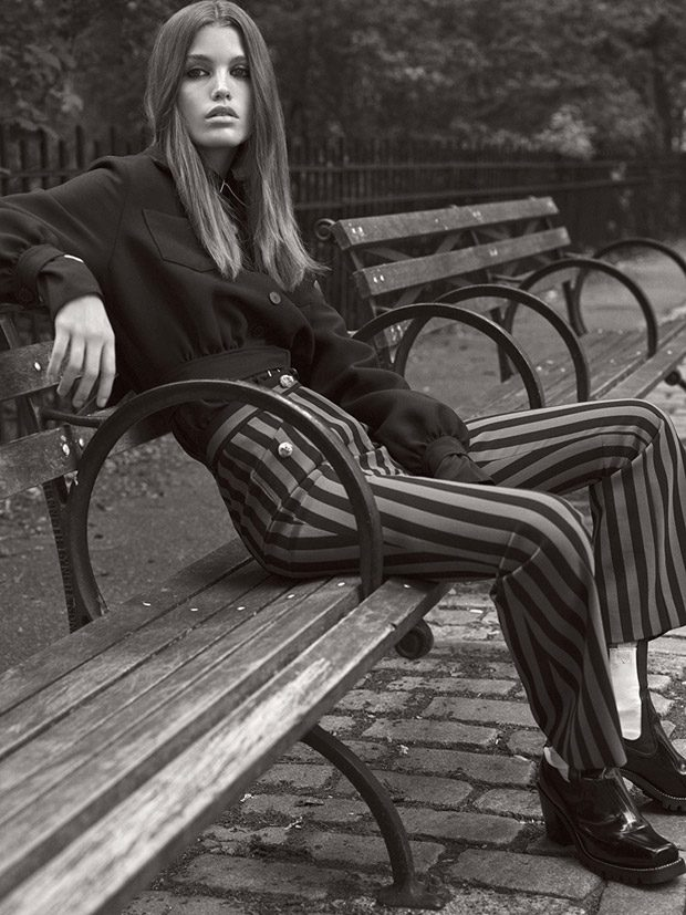 Luna Bijl Models Fall 2017 Looks for WSJ. Magazine October 2017 Issue