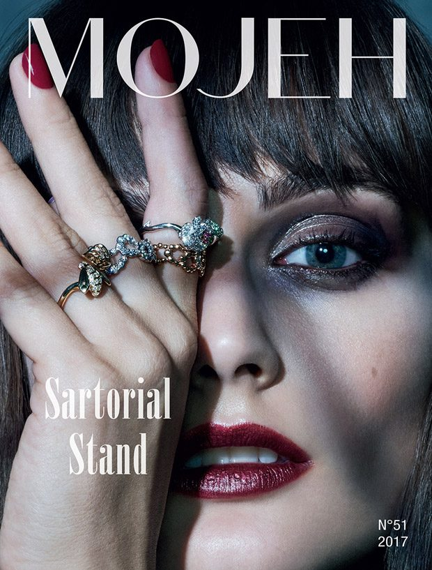 Sibui Nazarenko in Velocity of Light for Mojeh Magazine October 2017 Issue (16 pics)