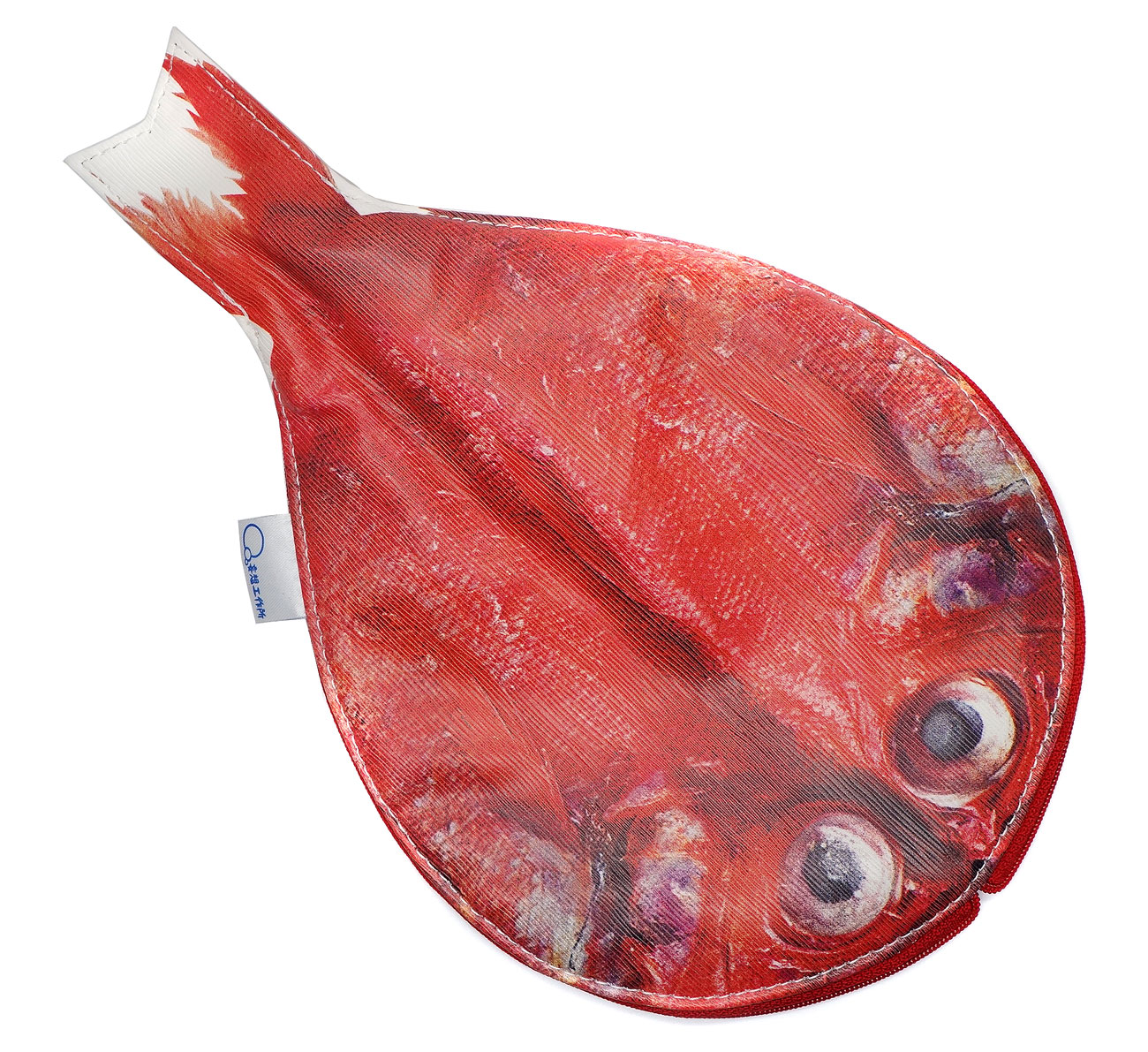 Anatomical Fish Zip Bags by Japanese Designer Keiko Otsuhata