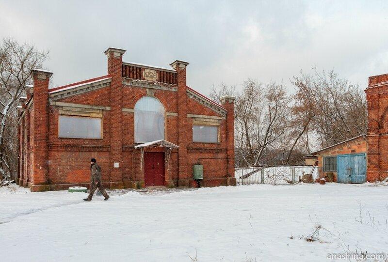 Здание очистных сооружений биологической очистки сточных вод, Водоканал-Мытищи
