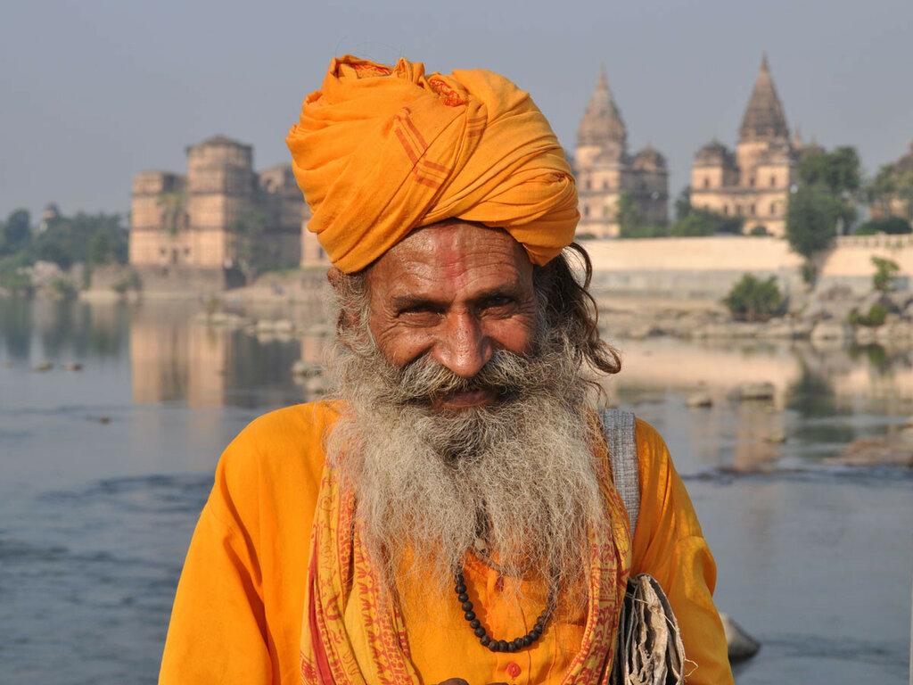 Солнечный старец... Орчха, Индия