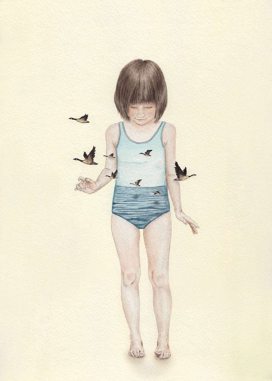 Innocence and Naivety in Tahel Maor's Drawings
