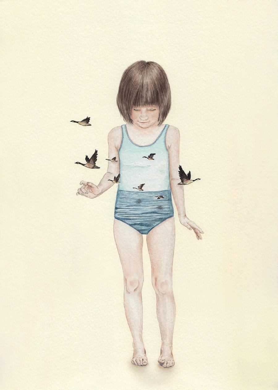 Innocence and Naivety in Tahel Maor's Drawings