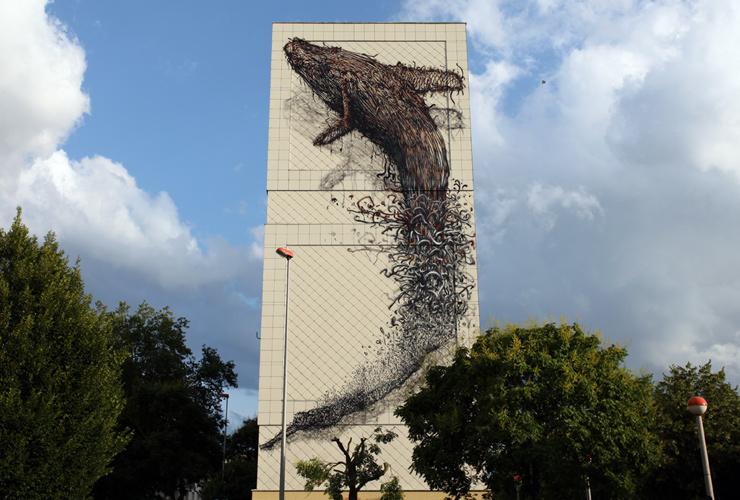 Creature - Street Art - DALeast