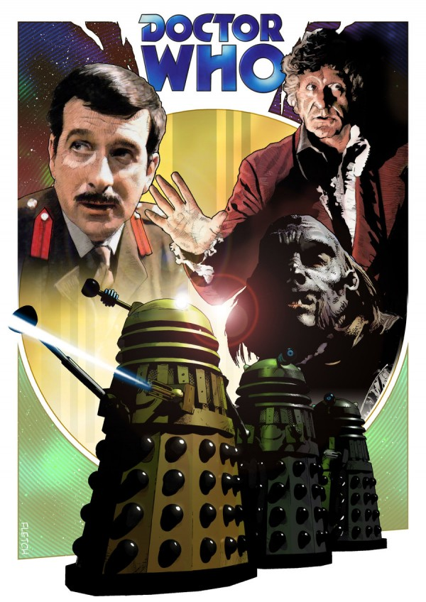 Dr Who Illustrations – Jason Fletcher (11 pics)