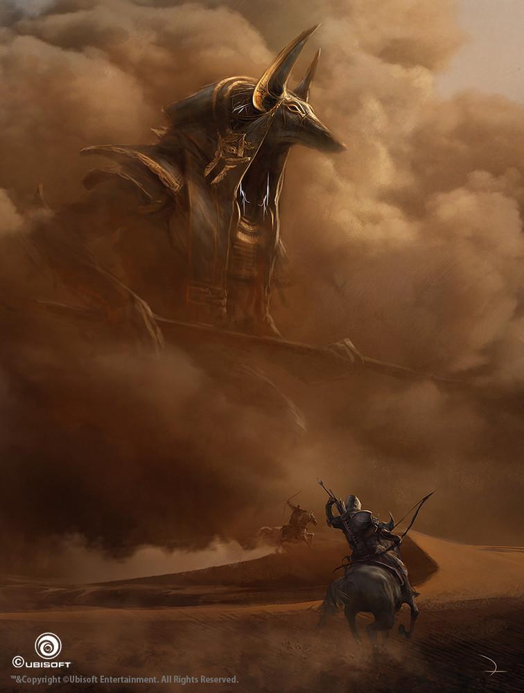 Assassin's Creed Origins Concept Art by Martin Deschambault (8 pics)