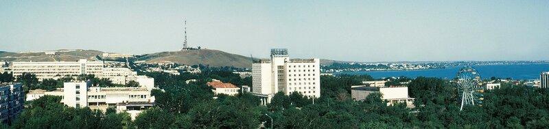 панорама Кокшетау, лето 1999 8286х1962.JPG