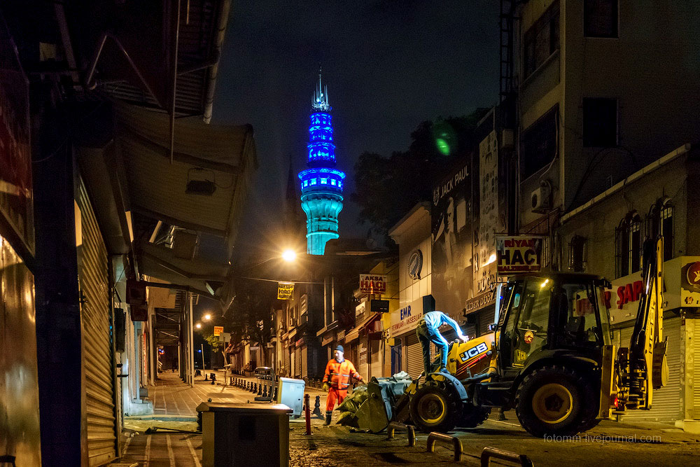 Ночью в Стамбуле.