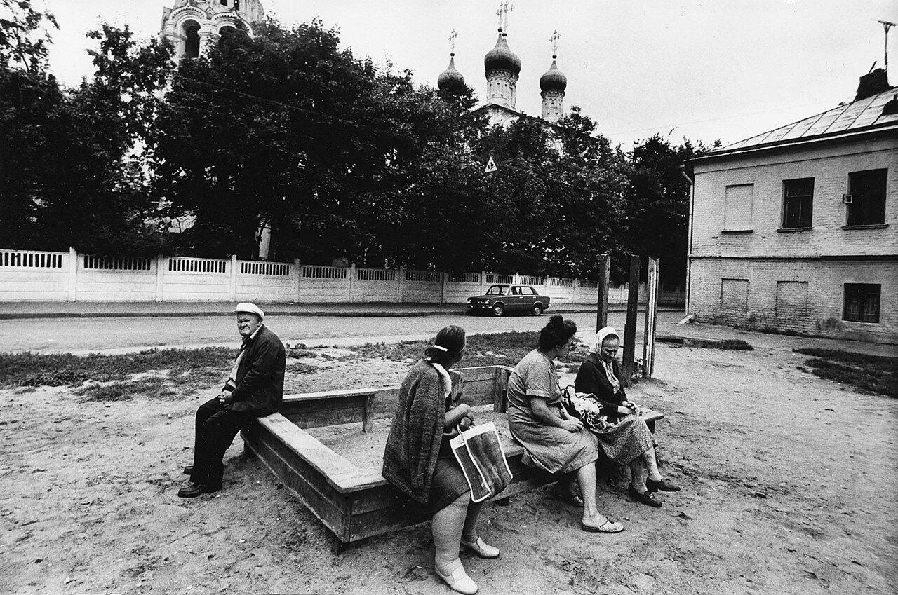 Аборигены Арбата. Спасопесковский переулок. 1979 год.jpg