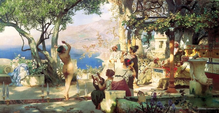 1881 Танец между мечами (Dance Amongst Daggers) Москва, Третьяковская галерея