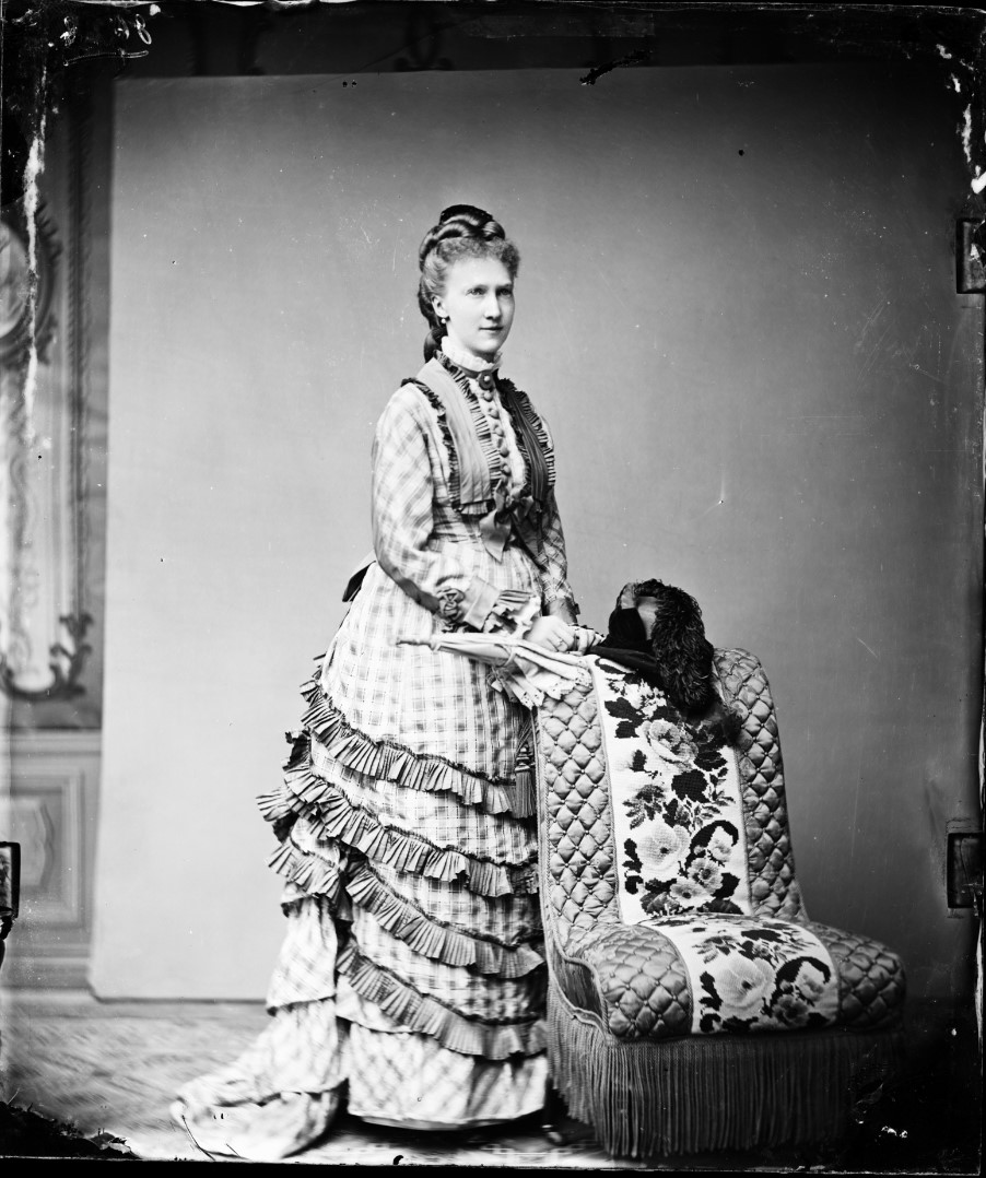 Августа Саксен-Мейнингенская. 1875