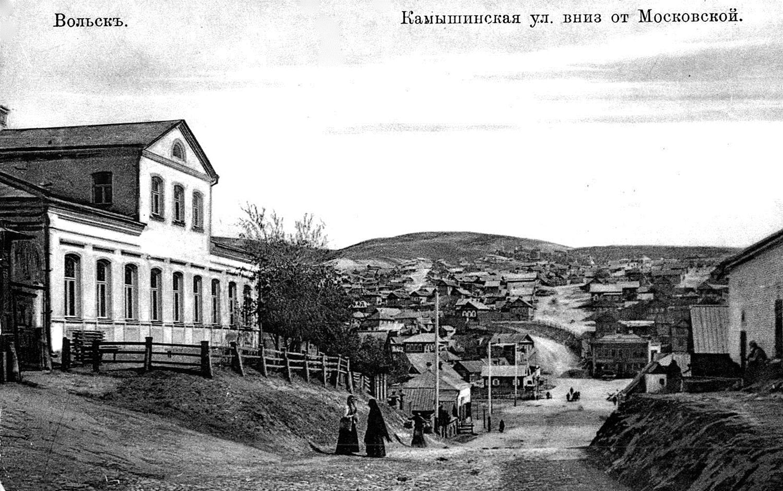 Камышинская улица вниз от Московской