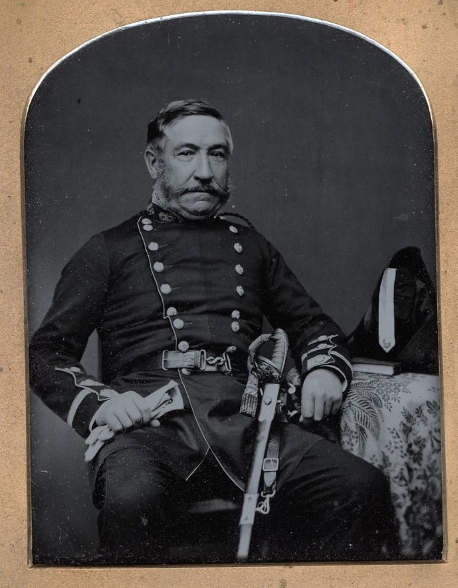 1856. Офицер британской армии в период Крымской войны