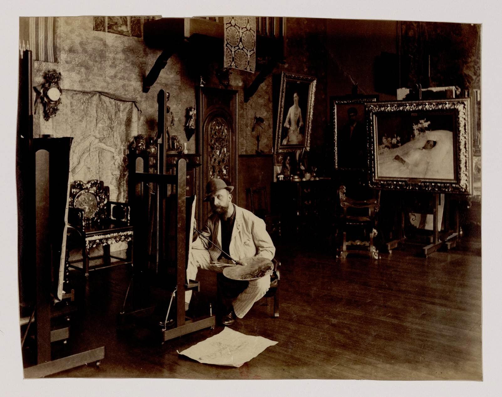 07. Гюстав Клод Этьен Куртуа  (1853-1923) - художник