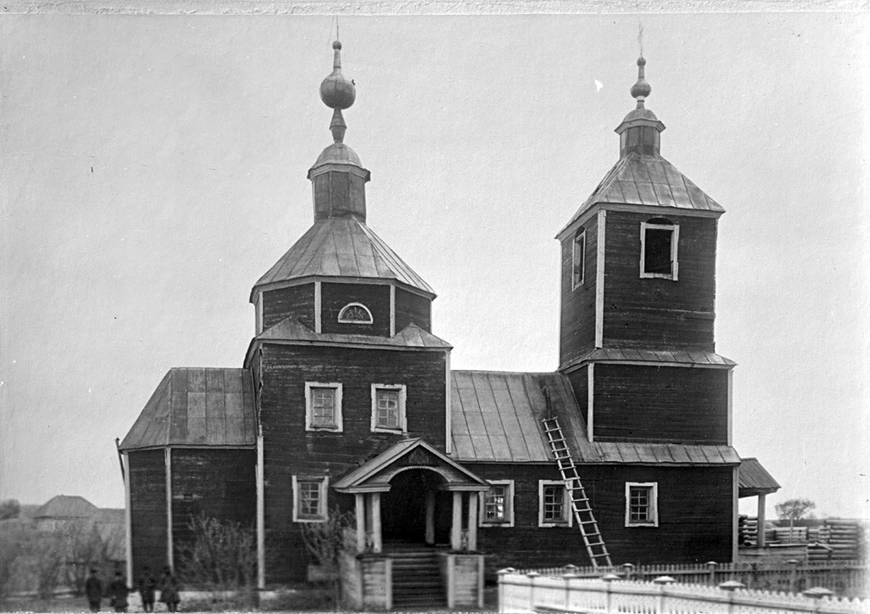 Общий вид Городецкой часовни. 1903