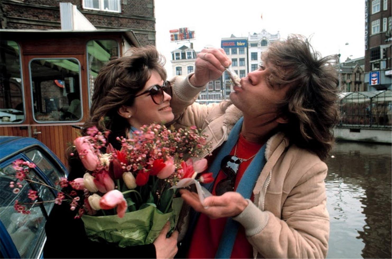 1984. Эдди Ван Хален и Валери Бертинелли, Амстердам