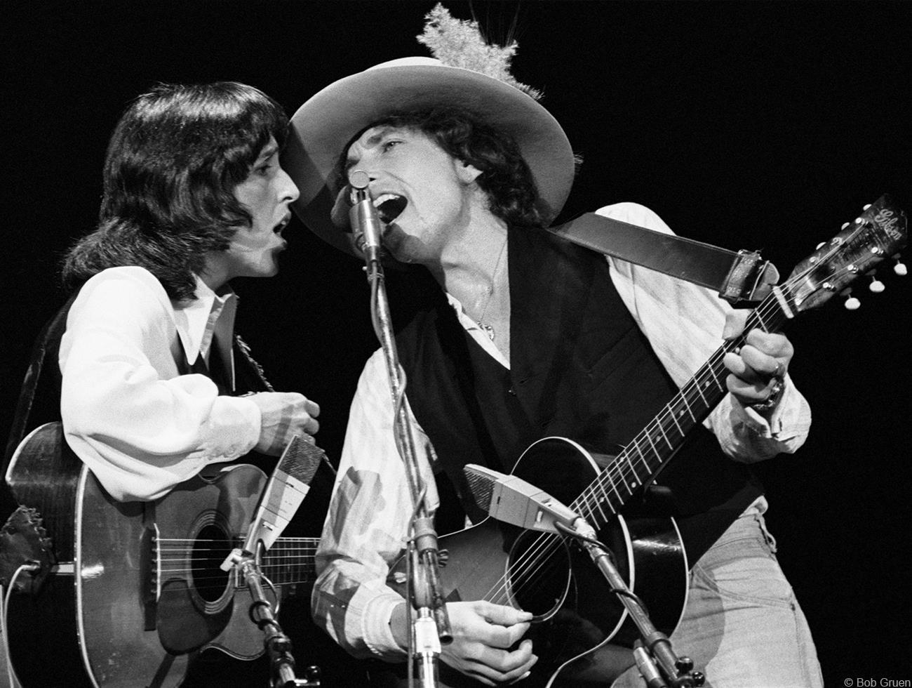 1975. Джоан Баэз & Боб Дилан