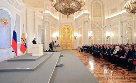 Владимир Путин выступит с посланием Федеральному собранию 1 марта