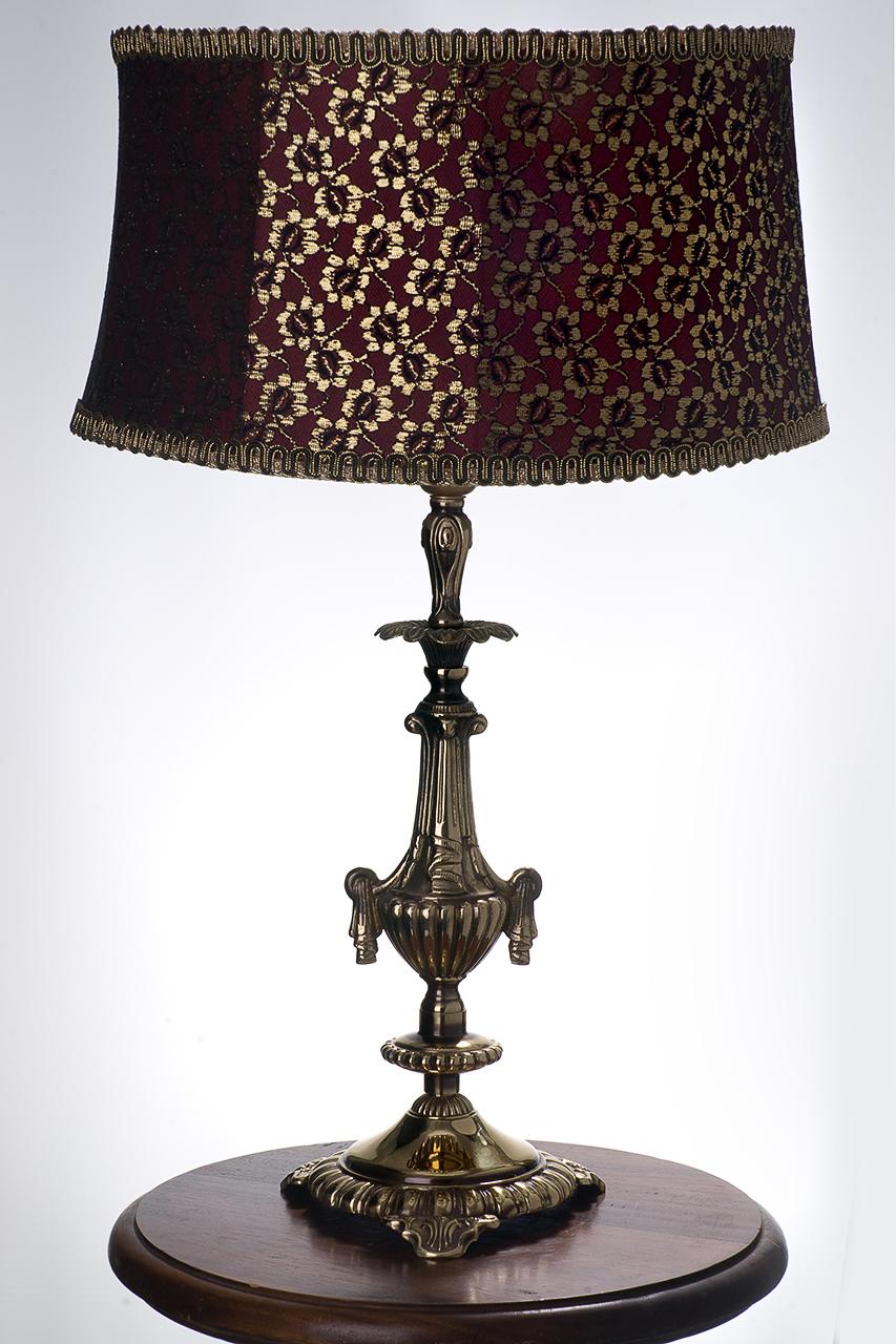 съемка настольных ламп с абажурами