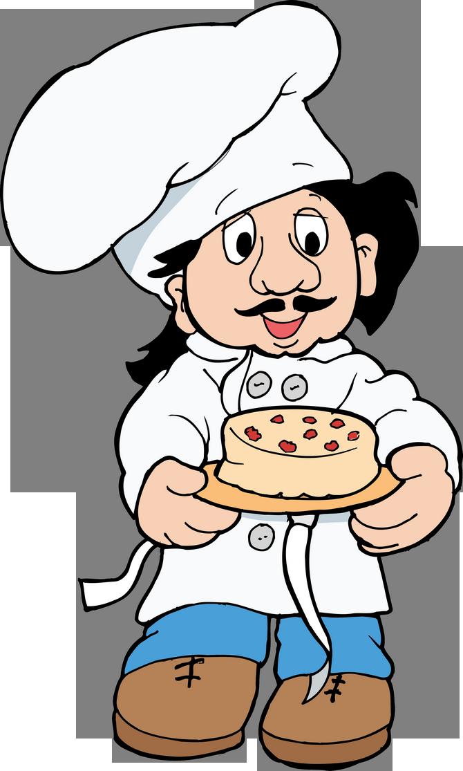 Картинки анимашки повар, дню рождения