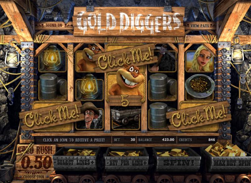 золотоискатели игровой аппарат бесплатно