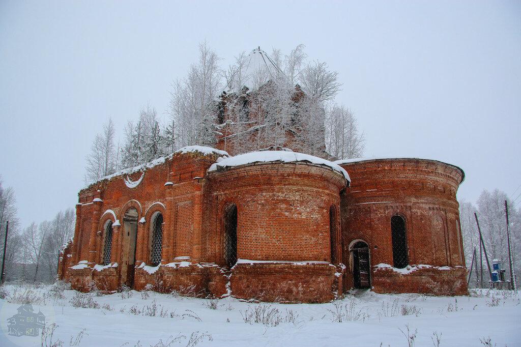 Заброшенная Церковь Иоанна Предтечи, село Пышкет (Удмуртия)