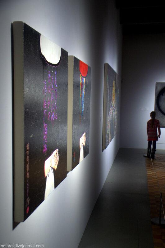 Выставка Такаси Мураками Будет ласковый дождь в Гараже. Москва