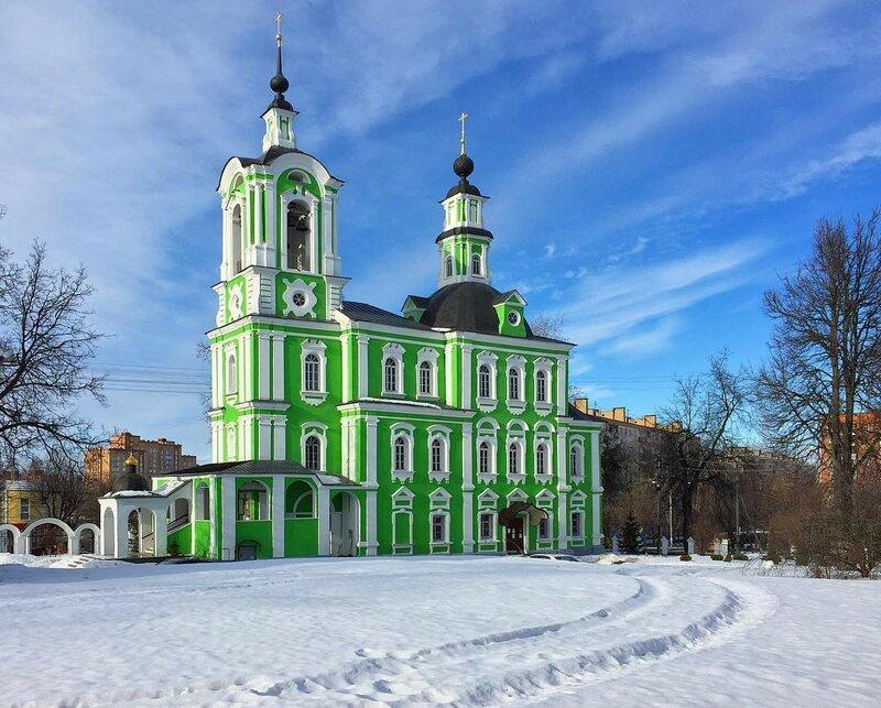 Троицкая церковь, Дмитров