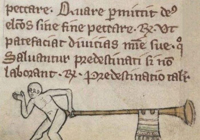 Трэш в средневековом искусстве
