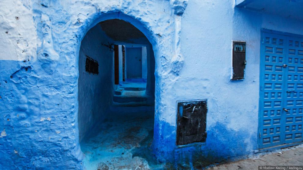 Марокканские сказки. 50 оттенков синего