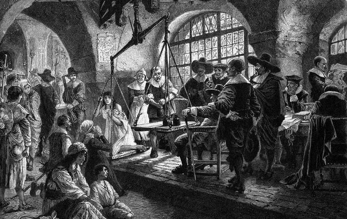 Ведьмины весы гонения европа нечисть ренессанс