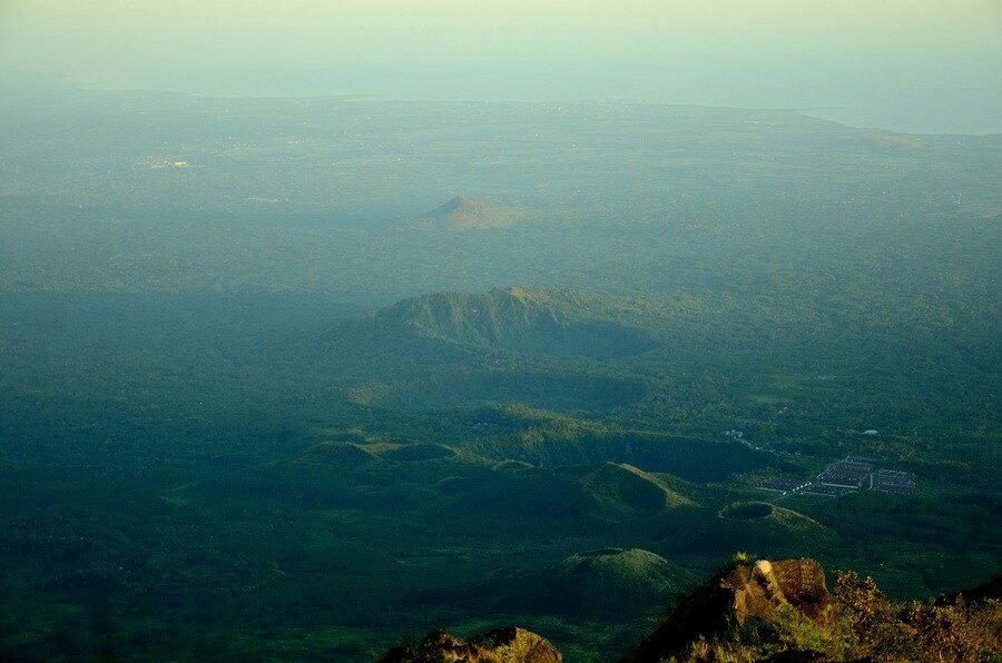 Вид на Яванское море