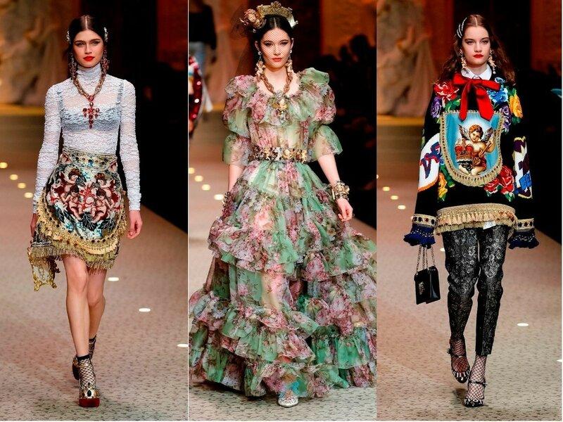 Dolce&Gabbana осень-зима 2018-2019