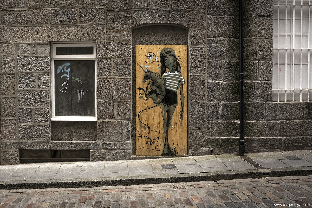 Streets: Nuart Aberdeen 2017 (Part I)