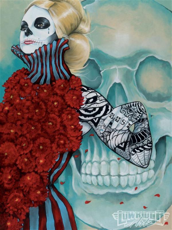 Artist – Gustavo Rimada – Dia De Los Muertos (9 pics)