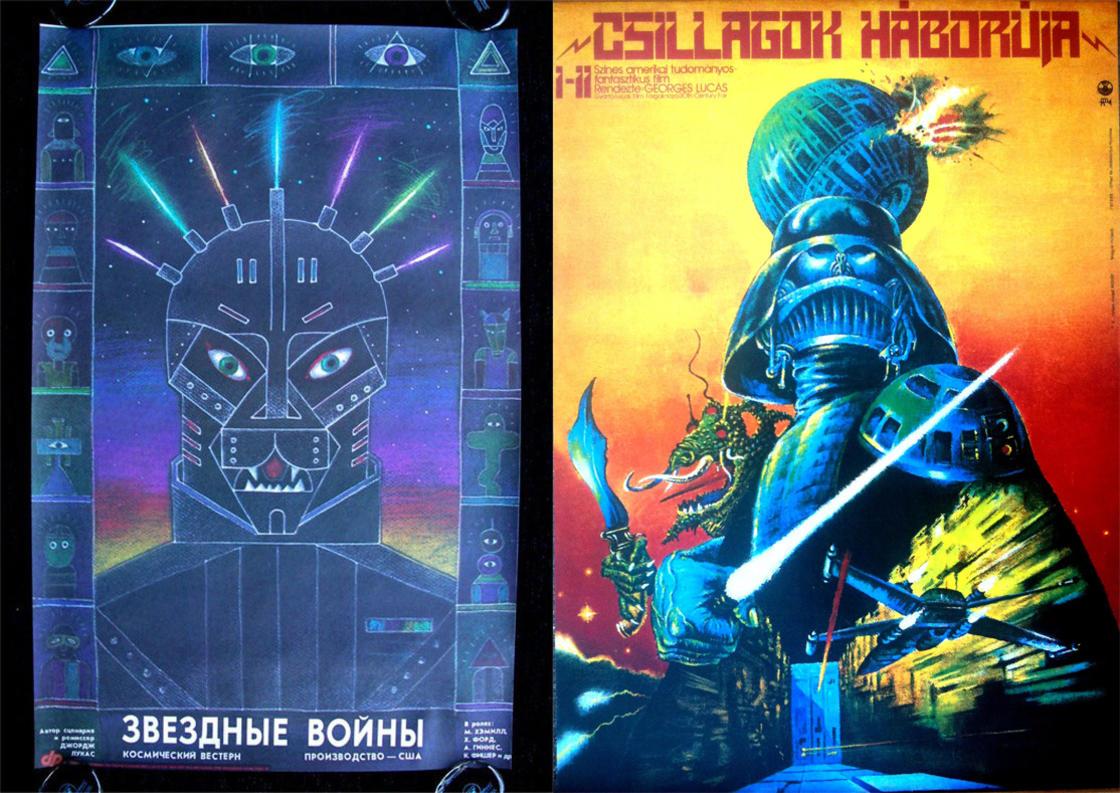 Soviet Star Wars – A quoi ressemblaient les affiches de Star Wars en URSS (15 pics)