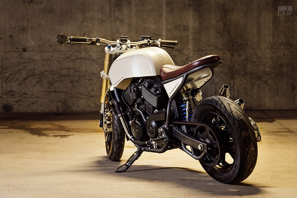 Number 8 Wire Motorcycles: кастом Harley-Davidson Street 750